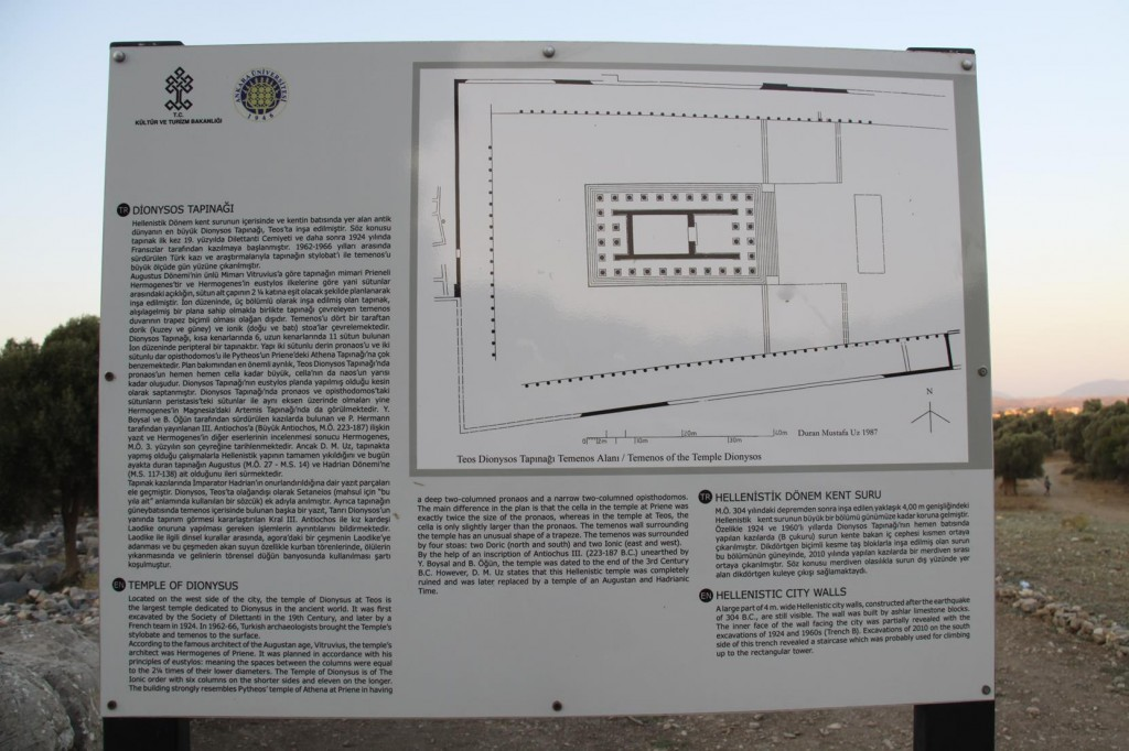 The Ancient Site of Teos Dates Back to the 3rd Century BC