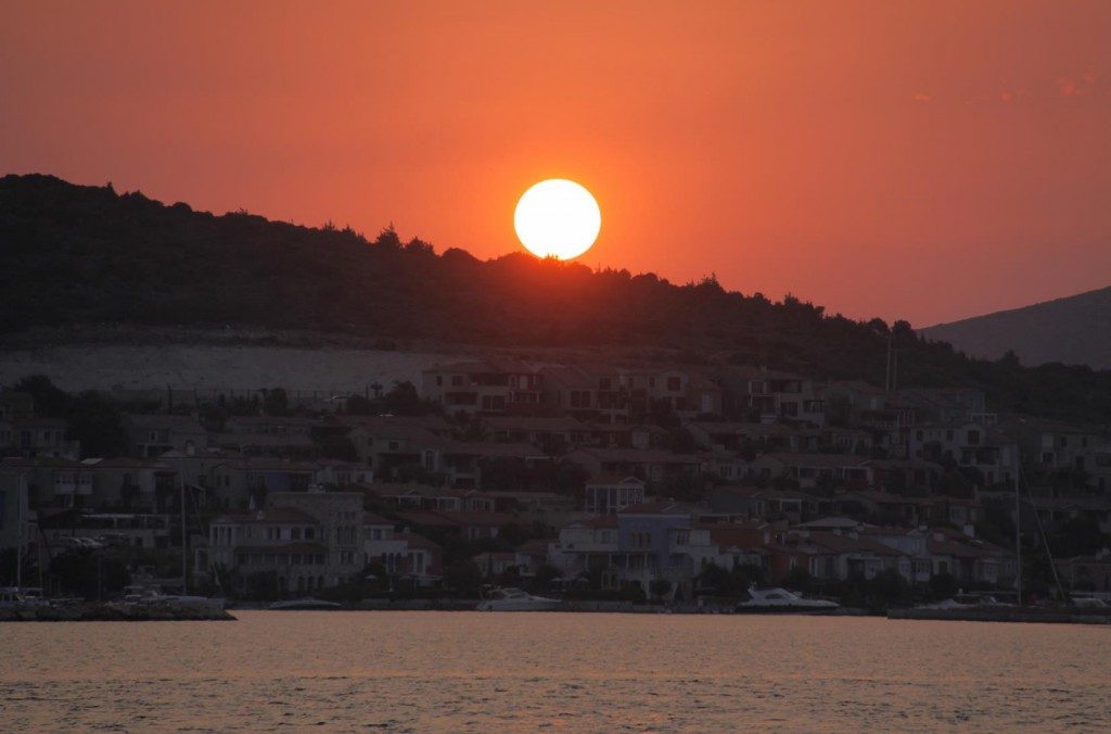 Sunset Over Alacati