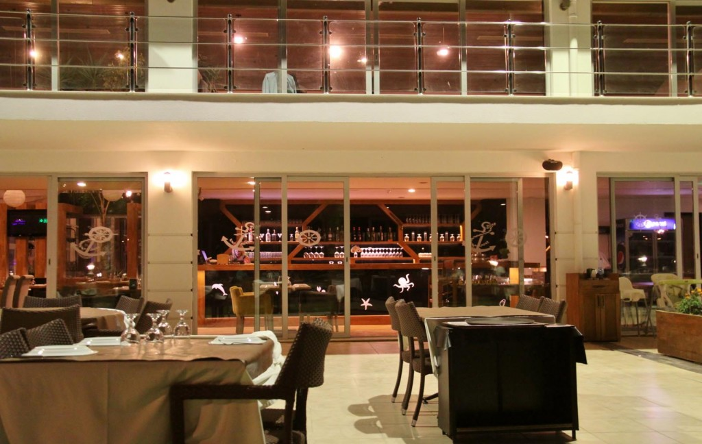 For a Change we Try One of the Restaurants in the Marina Complex and Enjoyed the Experience