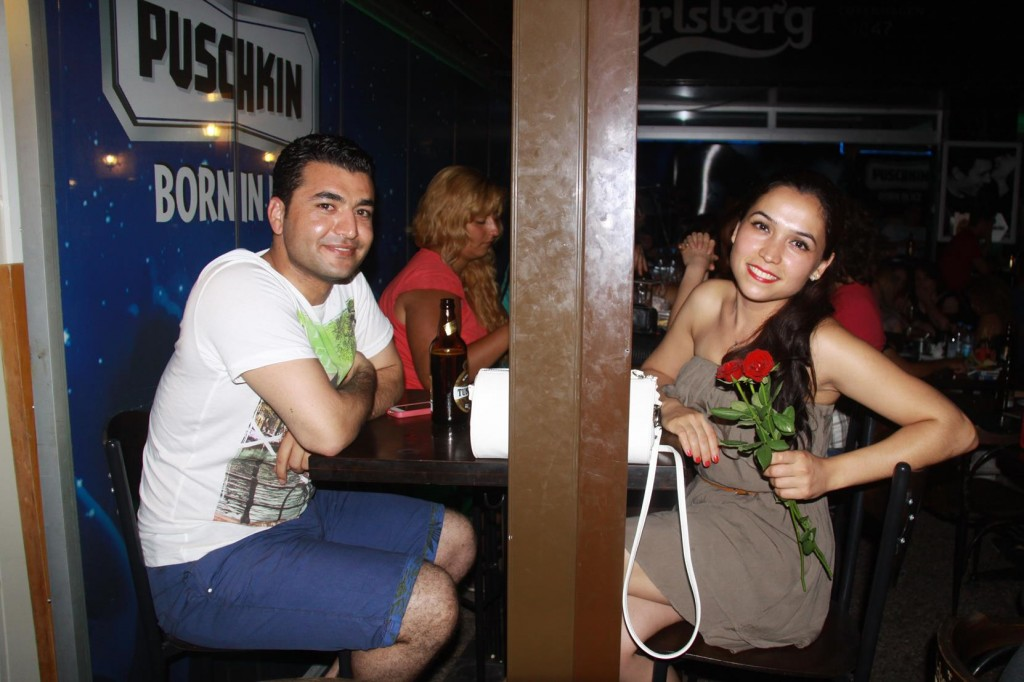A Lovely Young Turkish Couple from Ankara that we Chatted with Sitting Beside Us