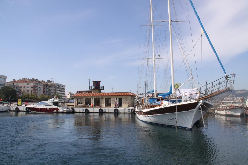 Our Departure from the Municipal Marina