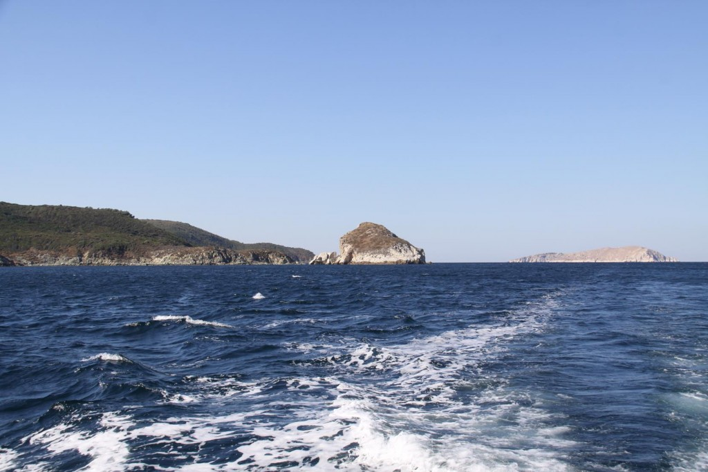 The North West Corner of Marmara with Hayirsizada Island in the Distance