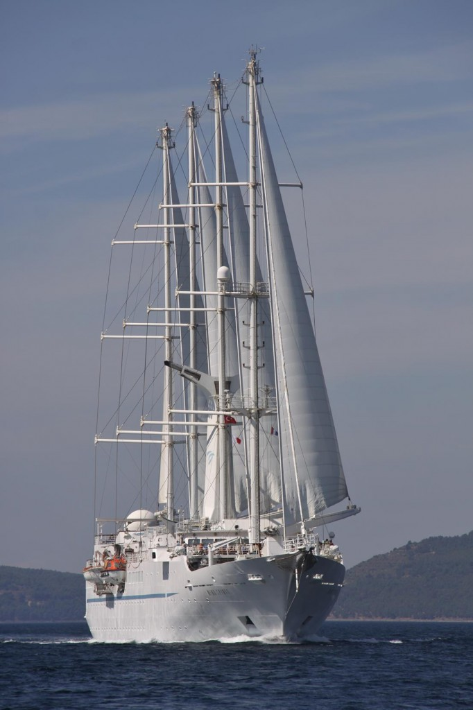 It Magic to See the Sails Up on the Wind Spirit