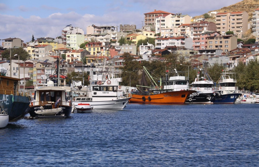 Marmara Port has Been a Working Port for the Island Since Ancient Times