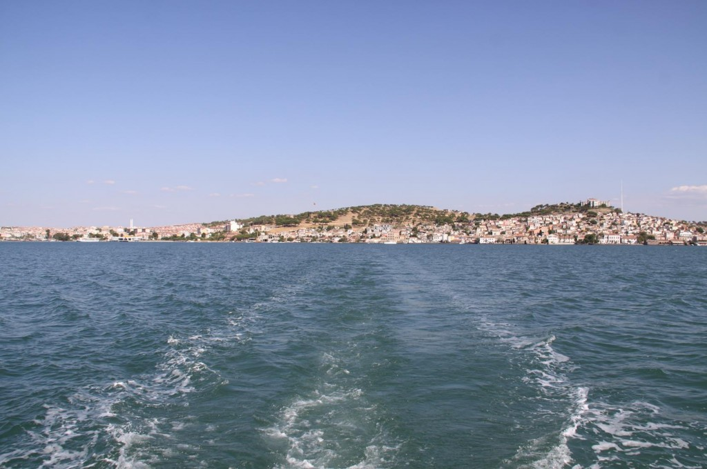 After Completing the Running from Place to Place Doing Customs we say Farewell to Alibey and to Ayvalik