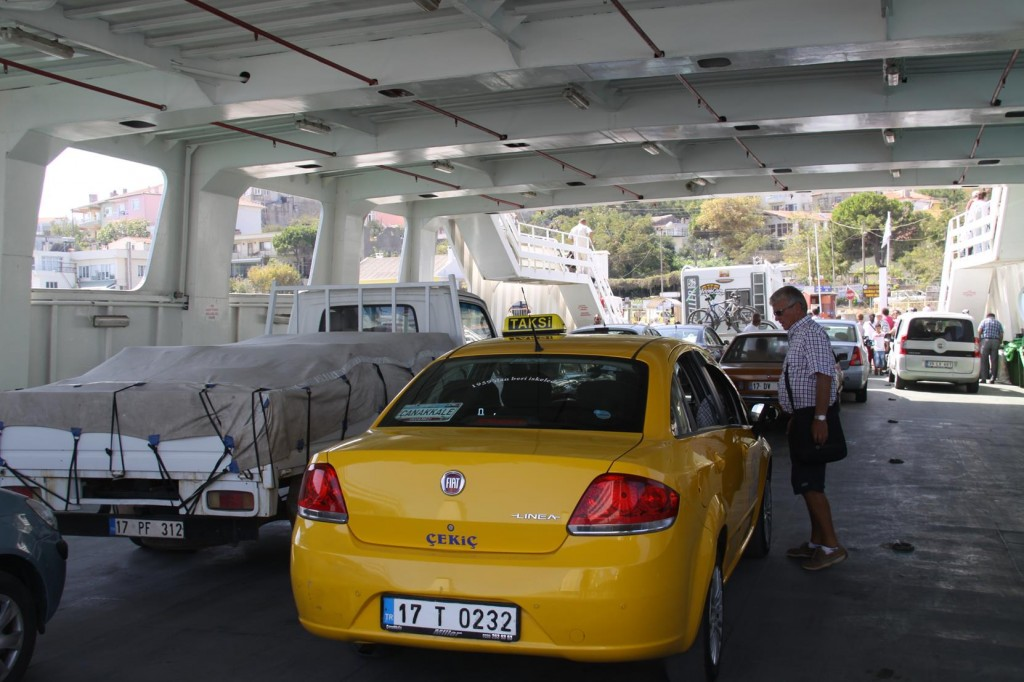 The Ferry is a Convenient Way to Cross the Channel Especially with a Vehicle