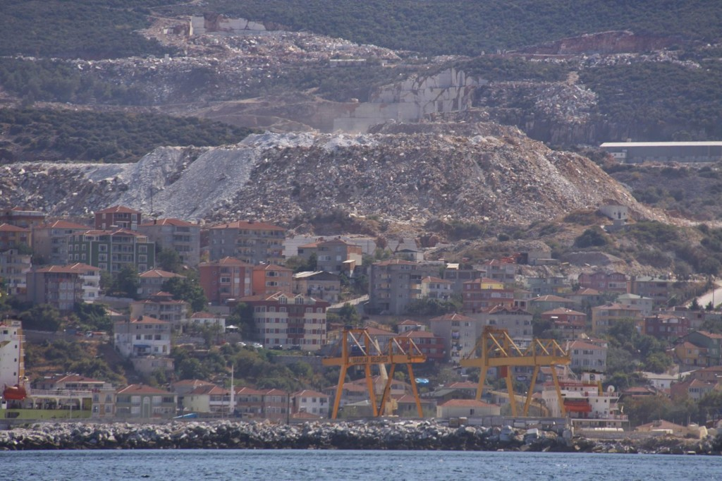 Continuing East Along the North Coast we Pass Saraylar, where we Visited by Taxi Yesterday