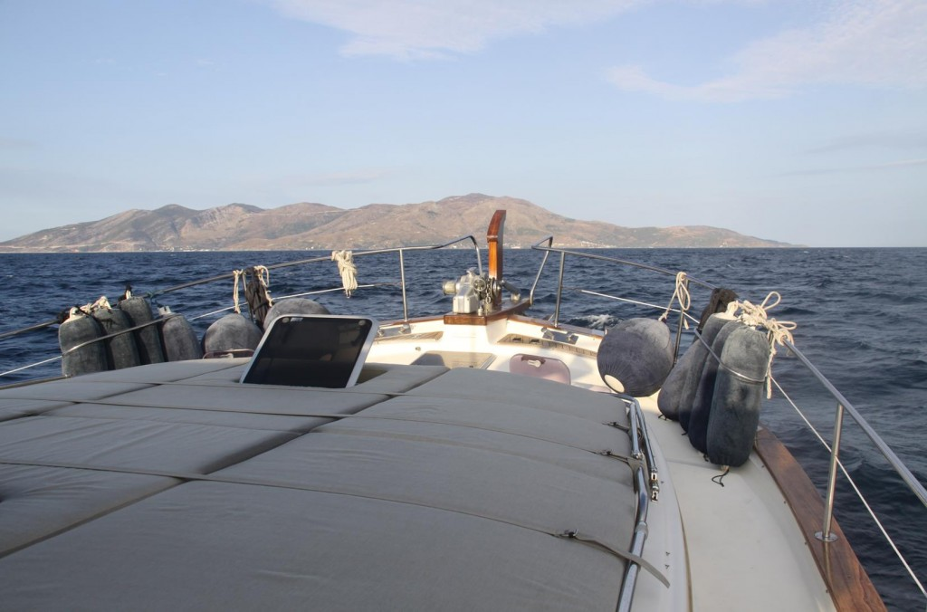 Once in the Marmara Sea with the Condition so Calm, we Continued to the Island of Marmara