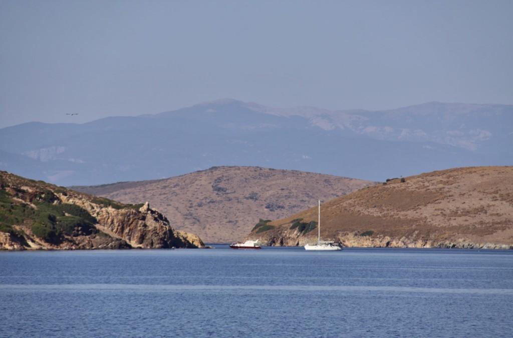 A Pleasant Mooring Between the Islands of the Ayvalik Archipeligo