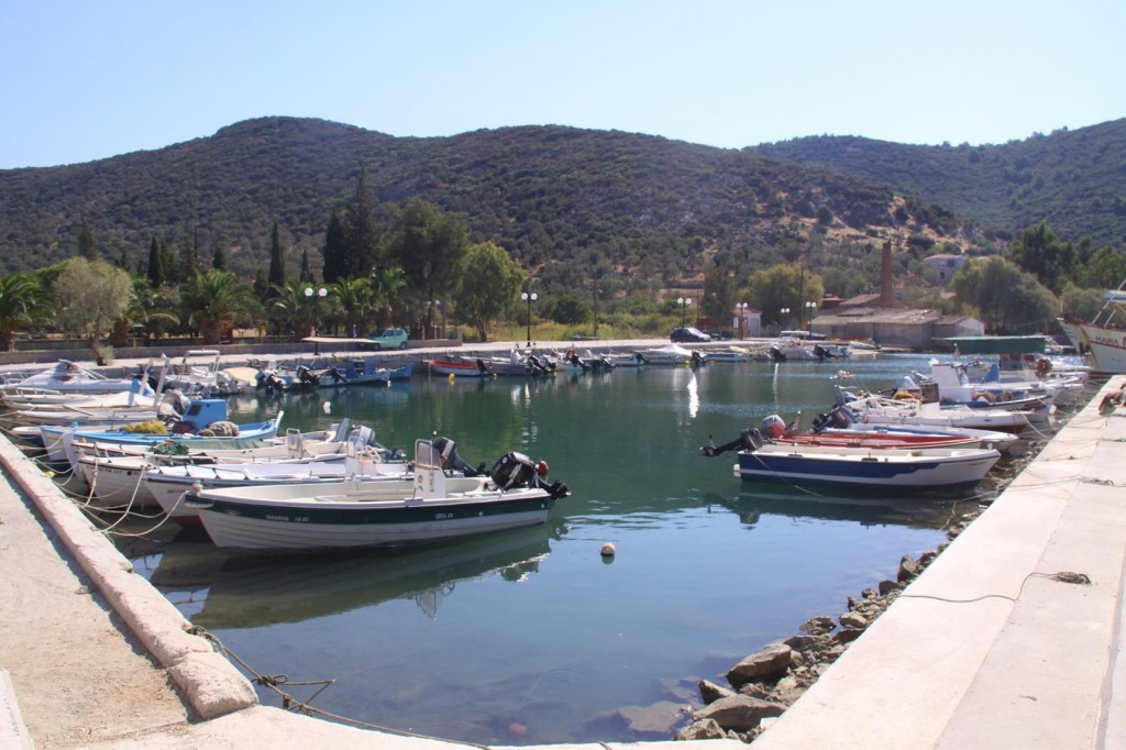 A Sheltered Inner Port for the Local Fishing Fleet
