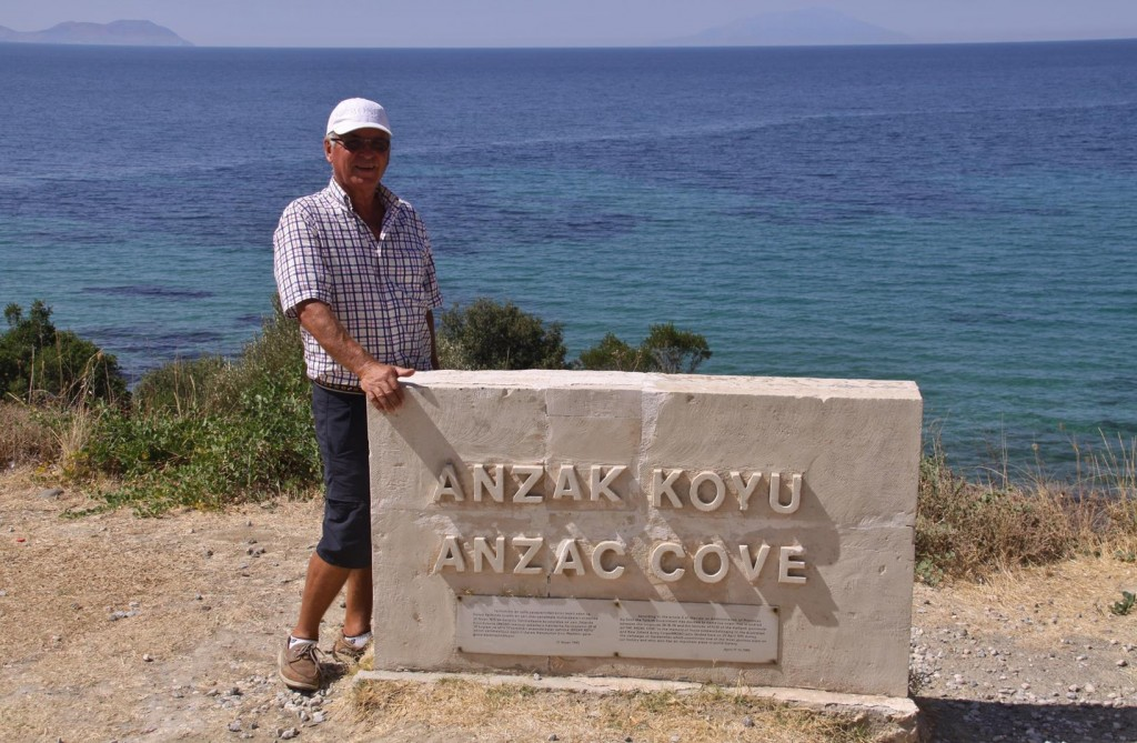 Anzac Cove at Gallipoli