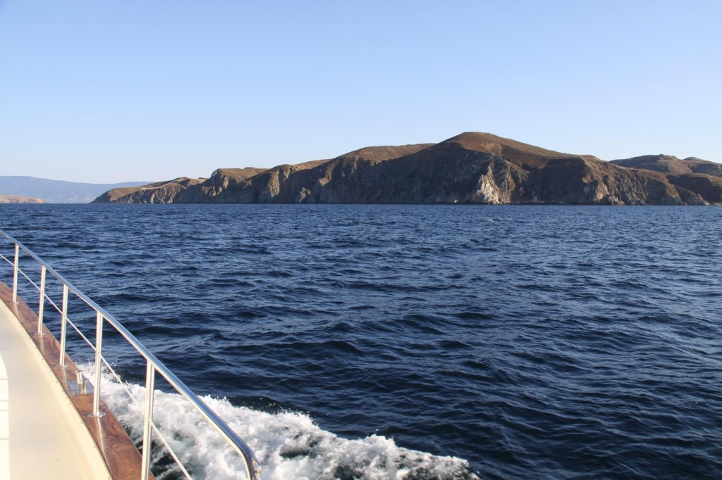 Once to the East Coast we Leave Marmara Island and Head South West to the Kapidag Peninsular
