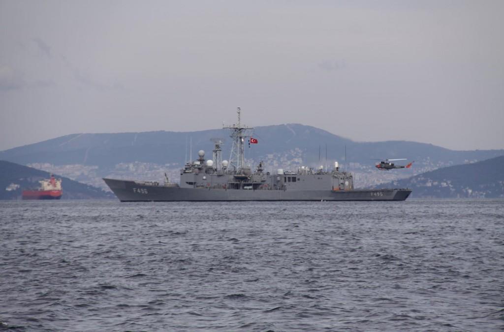The Turkish Navy Always a Presence in the Marmara Sea