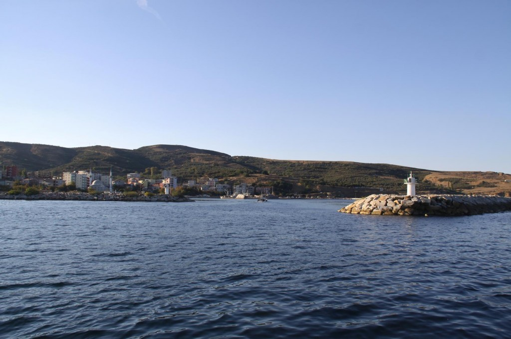 Cakilkoy Harbour on the Charts Showed a Secure Port for the Night
