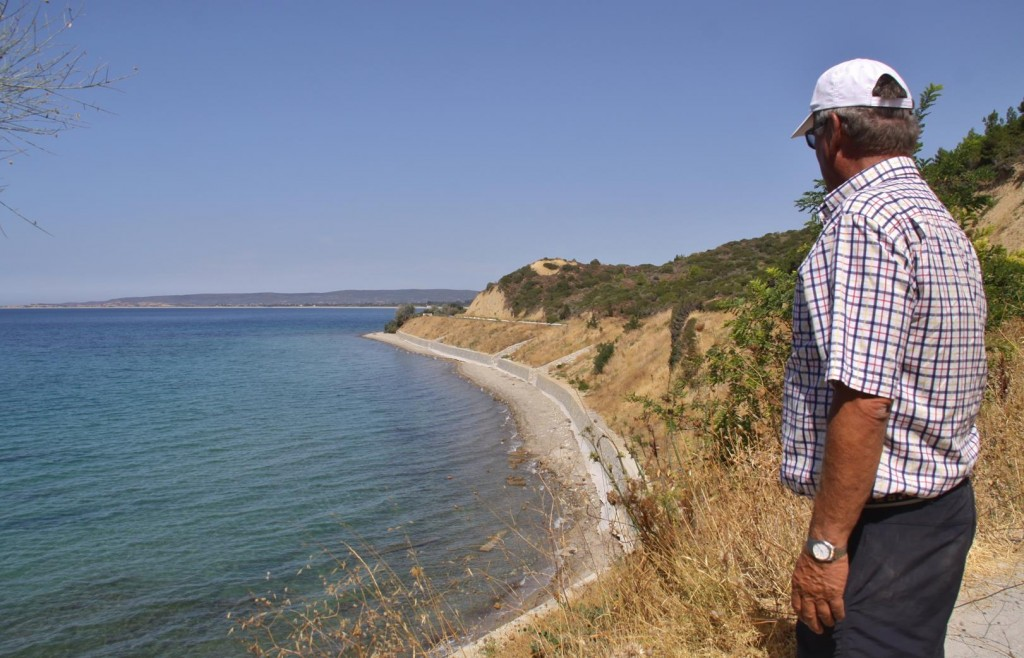 Anzac Cove Where the Australian and New Zealand Soldiers Landed on 25th April 1915