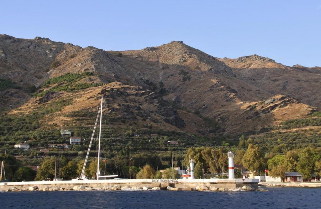 The Long Seawall of the Marmara Port