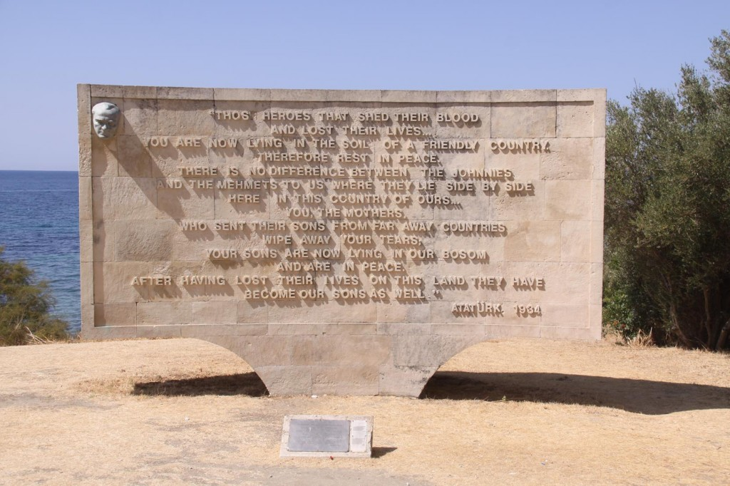 The Famous Epitaph of Mustafa Kemal Ataturk