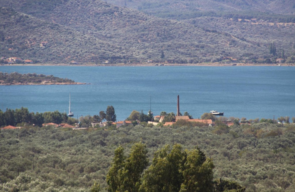 Overlooking the Channel that Leads to Kolpos Yeras