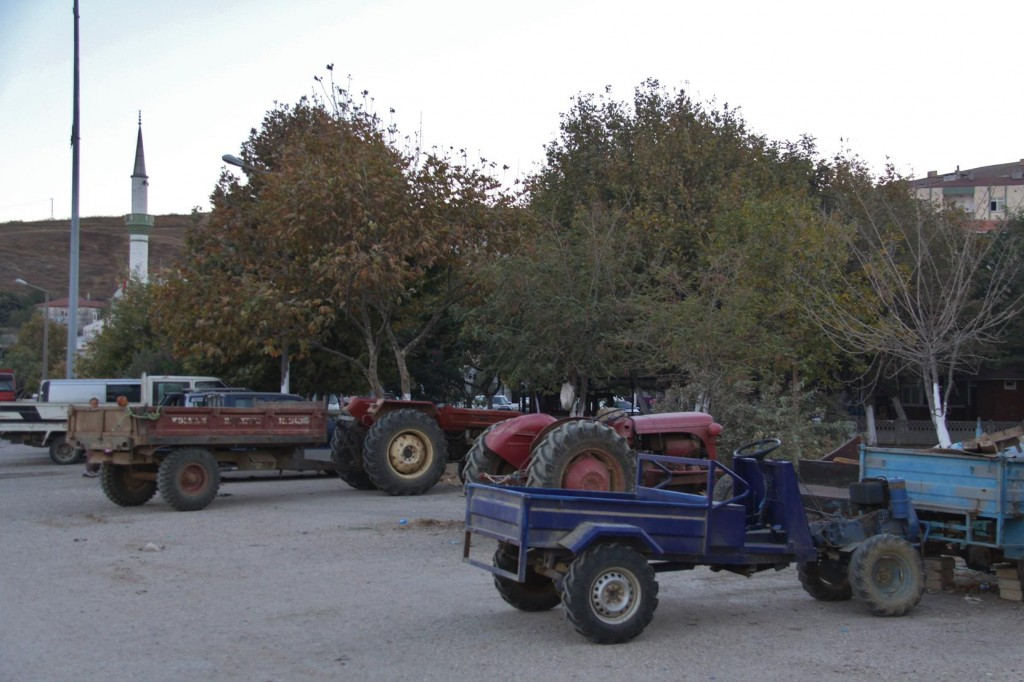 Around the Port Area There Seems to be More Tractors than Cars !!