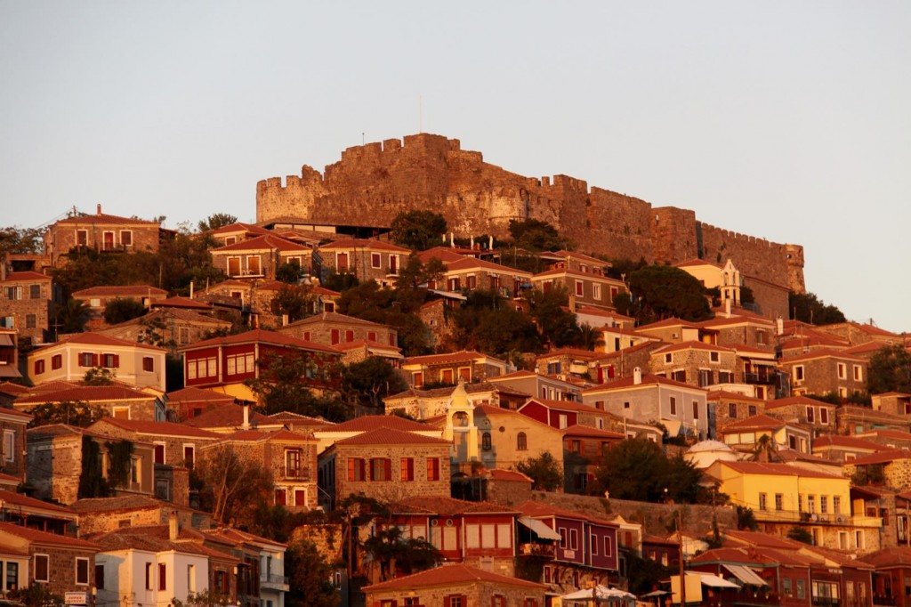We Fortunately Arrive Before Sunset to Experience the Wonderful Colours Over the Town