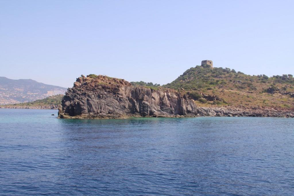 Approaching a Bay on the Western Side of Kizkulesi Adasi