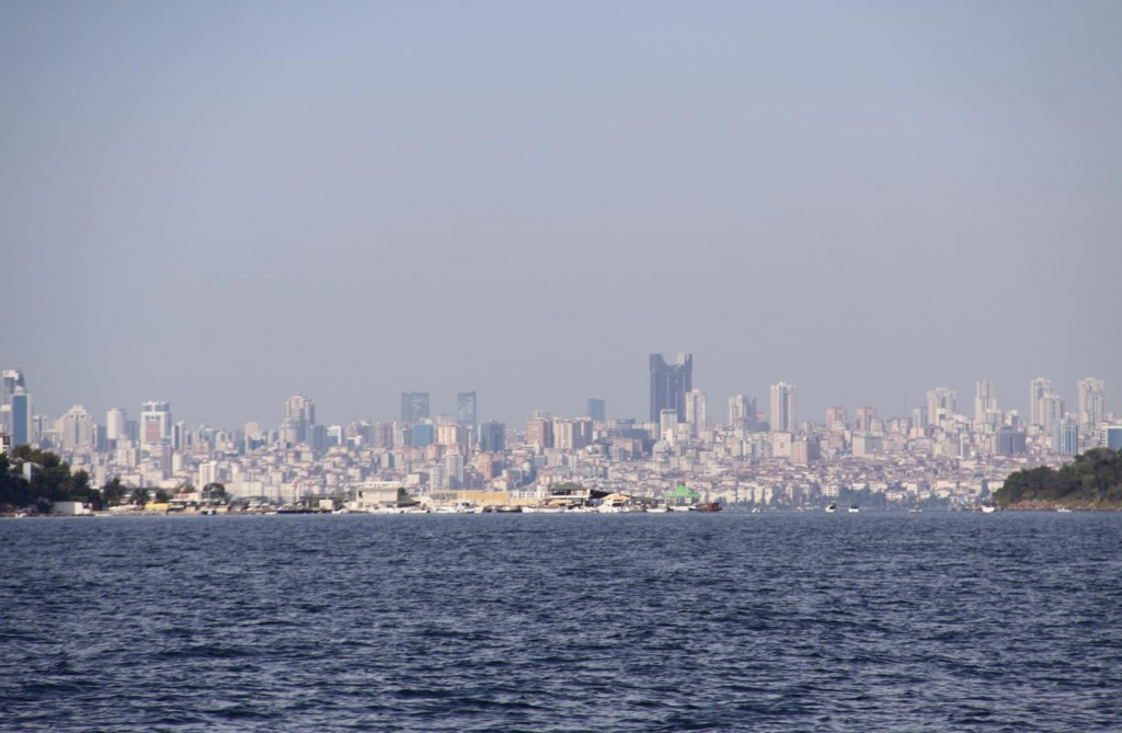 Istanbul has a Population of Approximately 15 Million