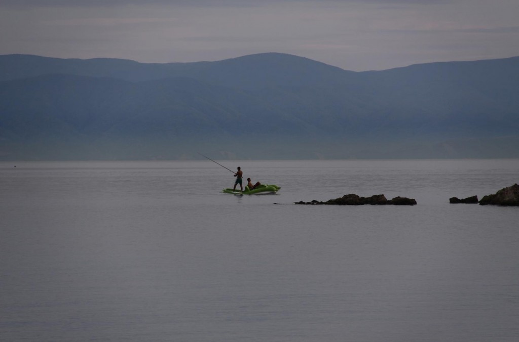 This Tranquil Scene Looking South Out of the Bay