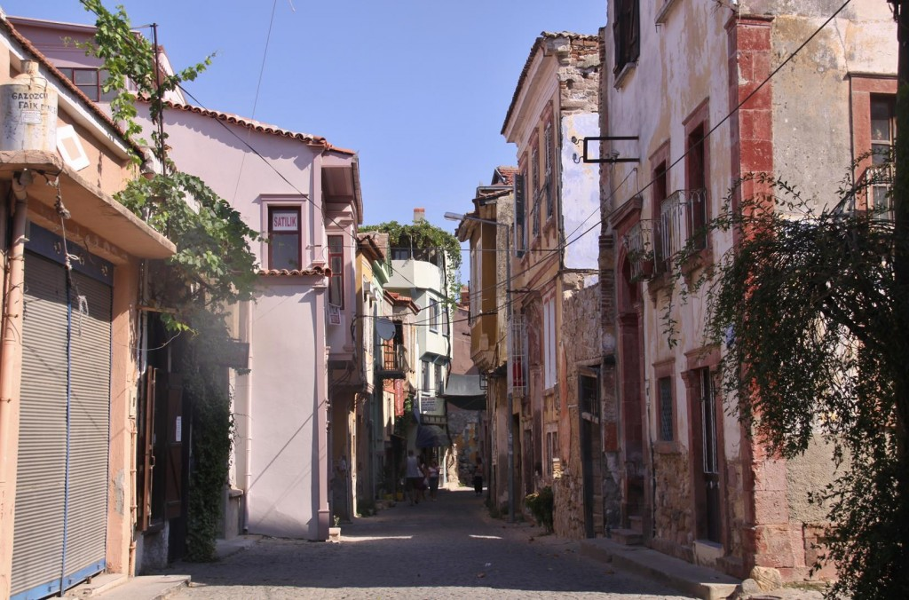 While Waiting to Pick Up Our Hire Car We Strolled Around the Back Streets of Ayvalik
