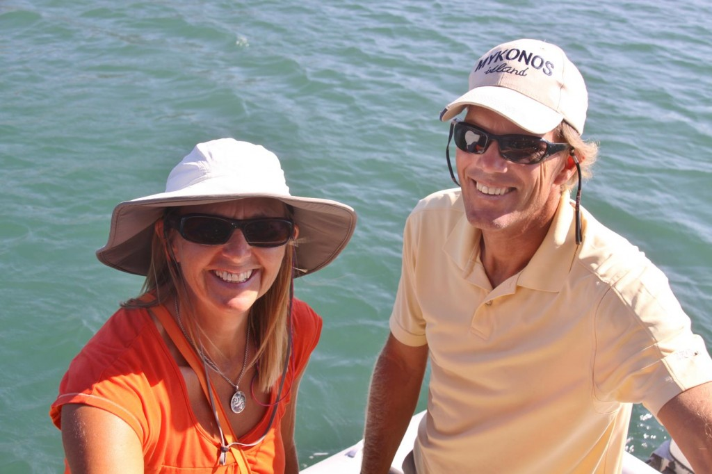 Well Travelled Canadian Sailors,  Michael and Gloria Come Aboard