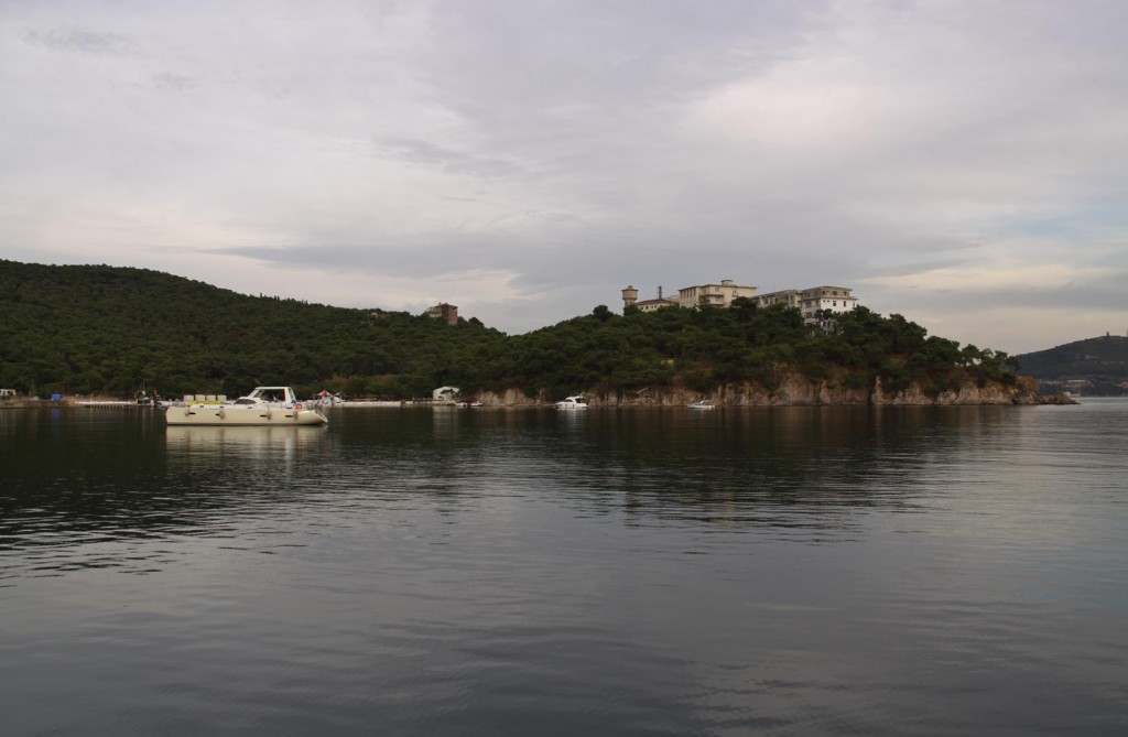 It is Hard to Believe that this Quiet Secluded Bay is Only a Few Miles from the Heart of Istanbul