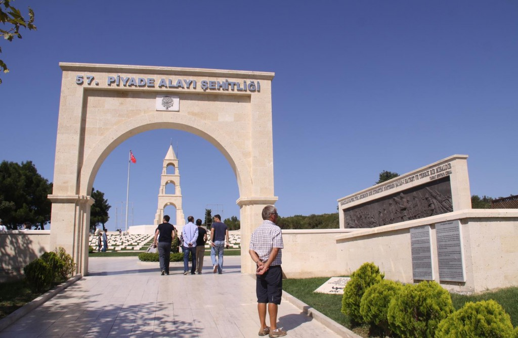 We Visit the Turkish 57th Regiment Memorial