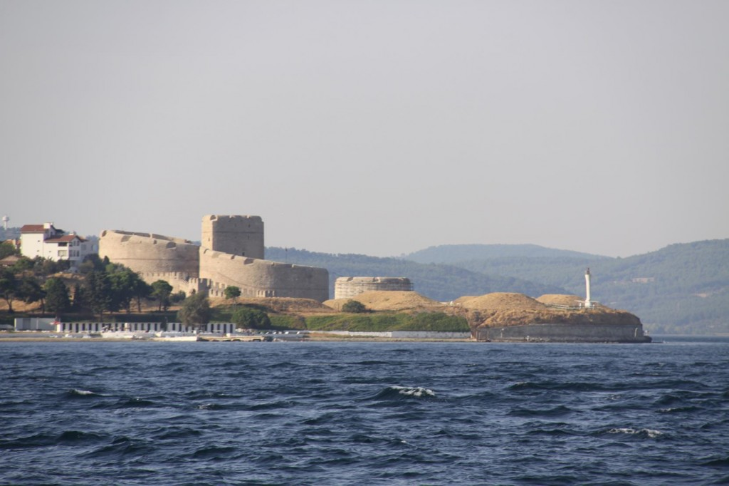 Kilitbahir Castle Situated Opposite Canakkale