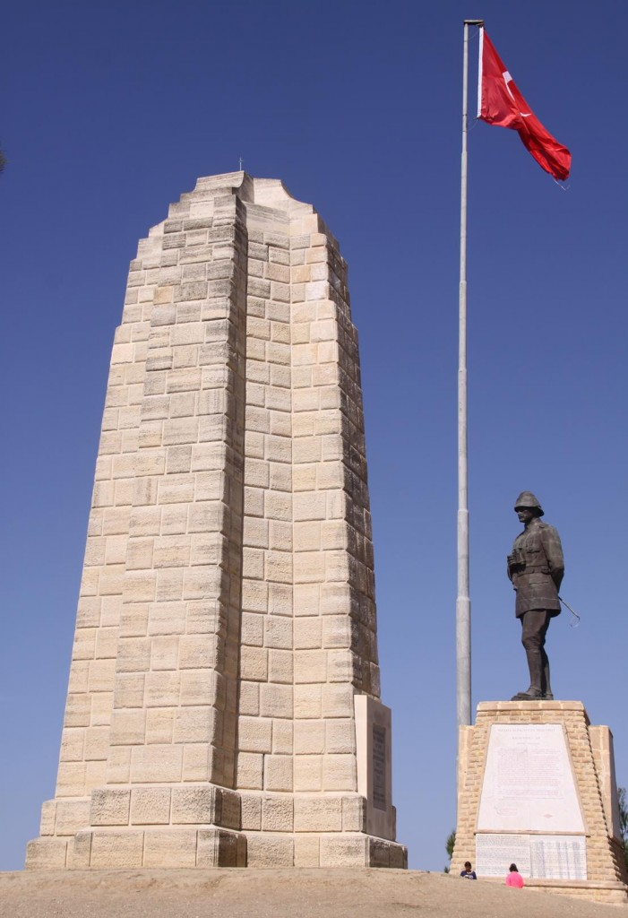 A Large Statue of Ataturk at Chunk Bair