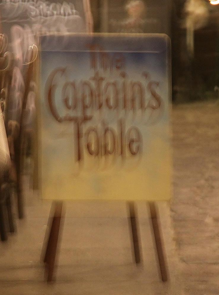 The Captain's Table (Which is Run by an Australian Born Owner who Departed at the age of 3) Serves the Best Food we have Tried in Months