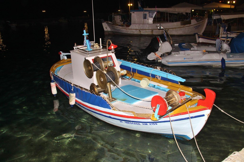The Cutest and the Most Immaculately Kept Fishing Boat in the Port