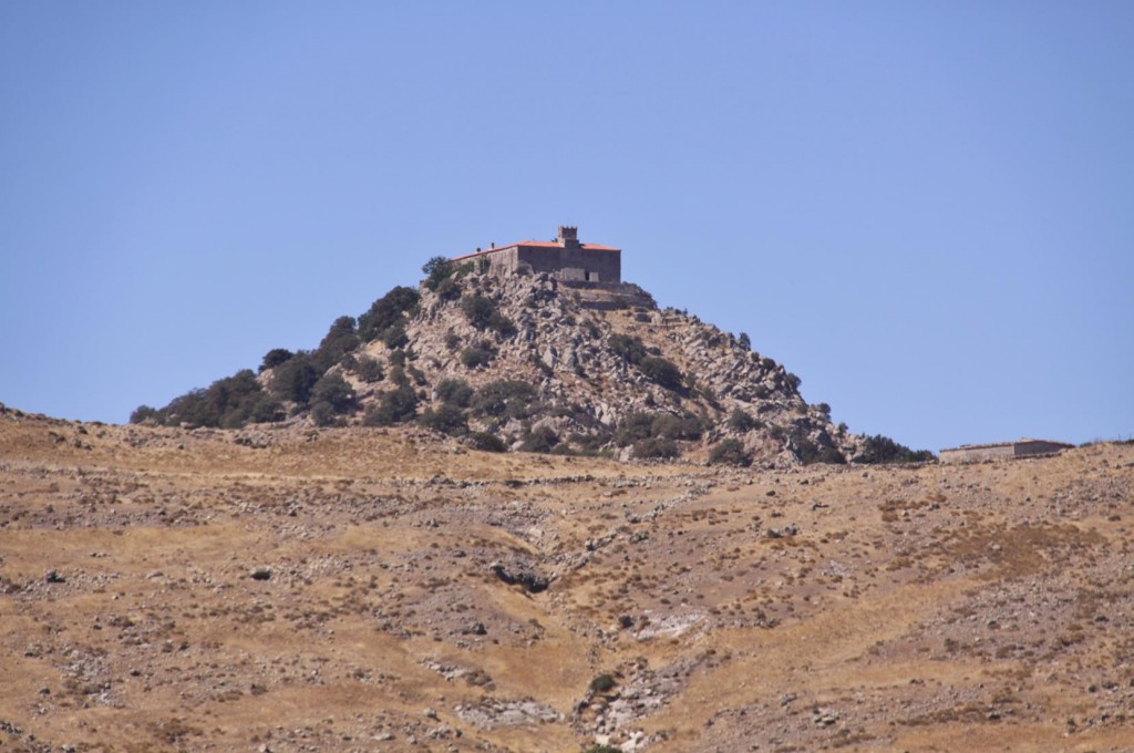 Perched on a Hill not Far from Antissa is the Ipsilou Monastery