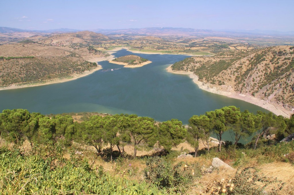 In Recent years an Irrigation Dam has Been Built at the Rear of the Old Site to Supplement the Amazing Fertile Valleys of the Bergama Area