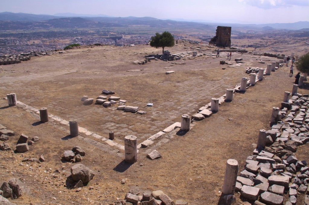 The Ruins of the Library at the Pergamon Site