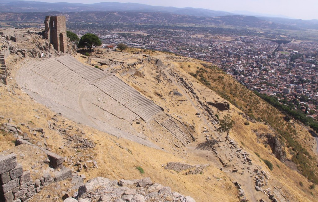 The Ancient Theatre at the Old Site Held 10,000 People and was Known as the Most Attractive Theatre in Asia Minor