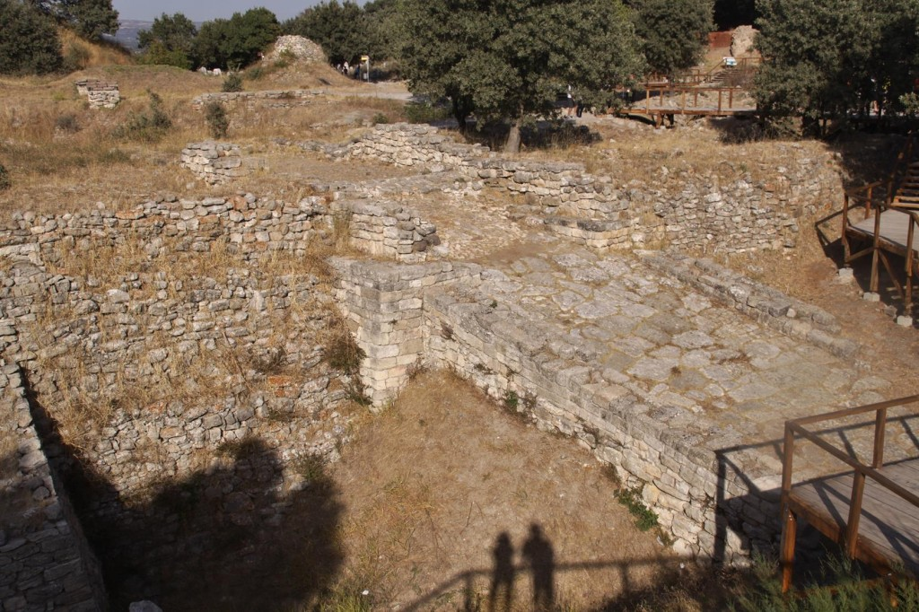 The Ramp to the Citadel was Built around 2300 BC