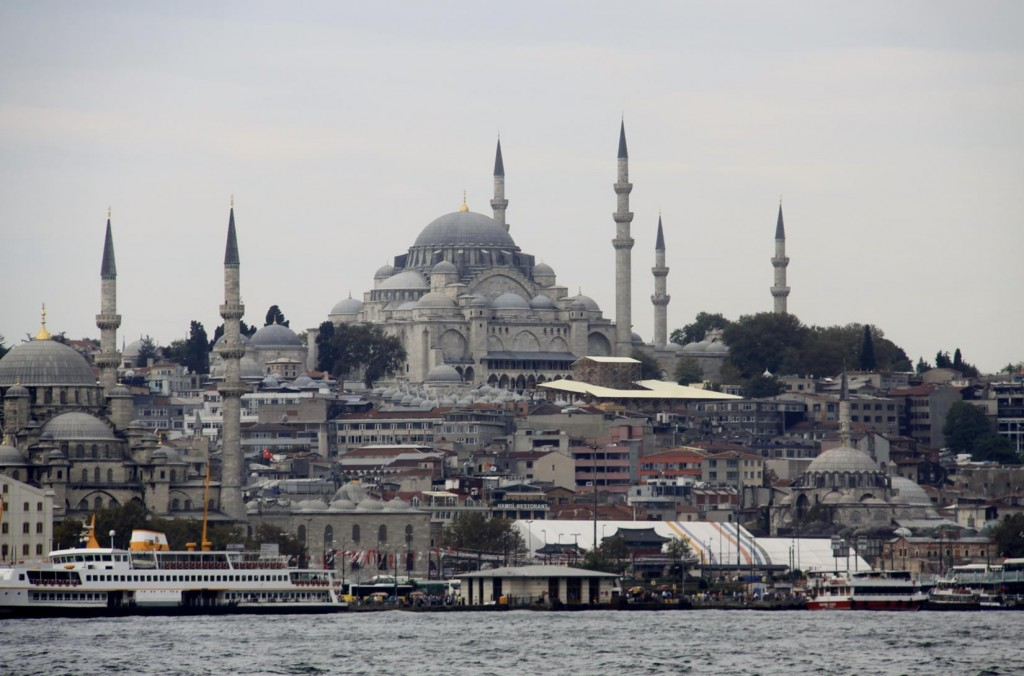 Several Other Large Mosques Overlook the Marmara Sea in Eminonu Area