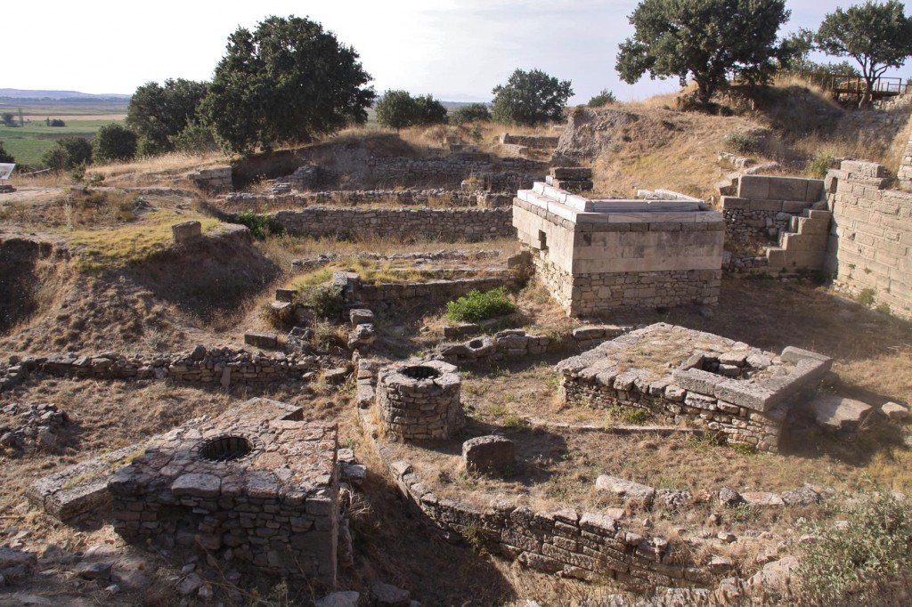 The Sanctuary Which Dates back to the 7th Century BC