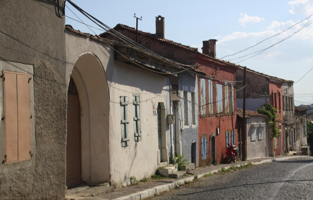 Typical Houses in the Old Part of Bergama