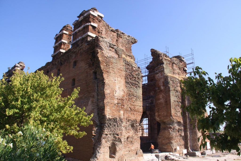 Originally the Serapis Temple and Later Turned into the St Ioannes Church During the Byzantine Era