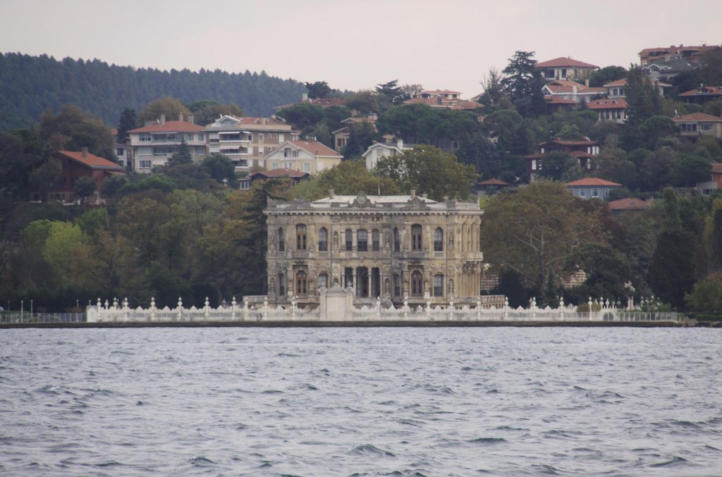 Palaces Line Both Shores of the Bosphorus
