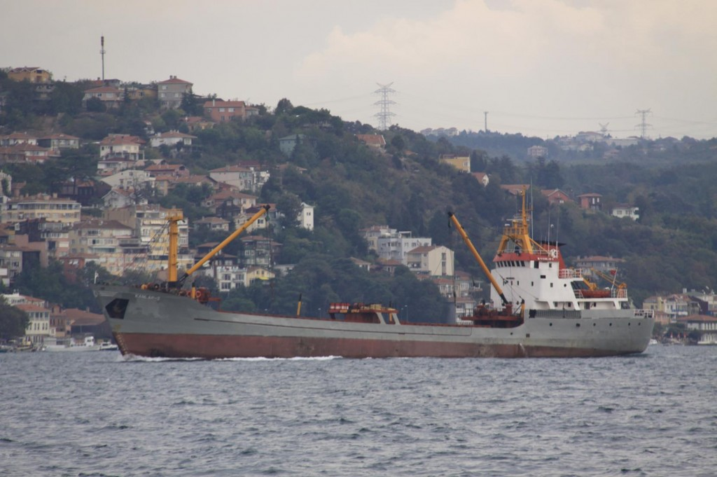 Ships Constantly Make their Way Towards the Black Sea