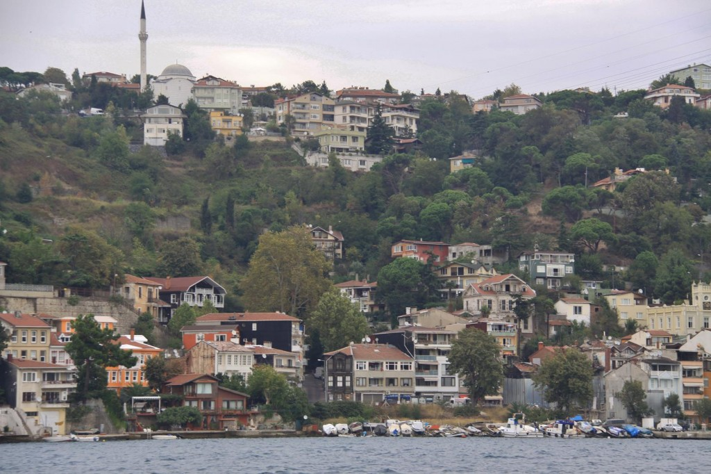 Many Locals have Small Boats for Fishing in the Waters of the Bosphorus