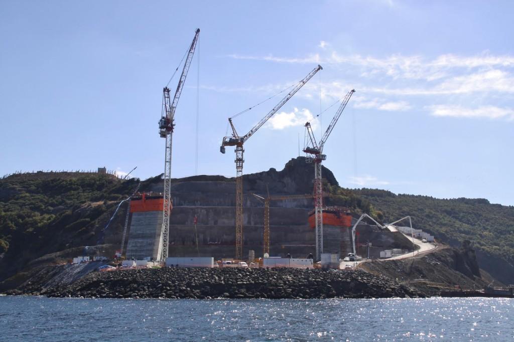 6 Billion Dollars is Being Spent on the New Bridge Near the Black Sea