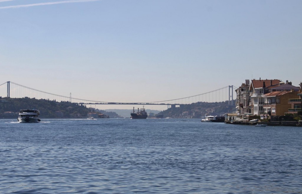 Today there Appears to be Much More Traffic on the Water