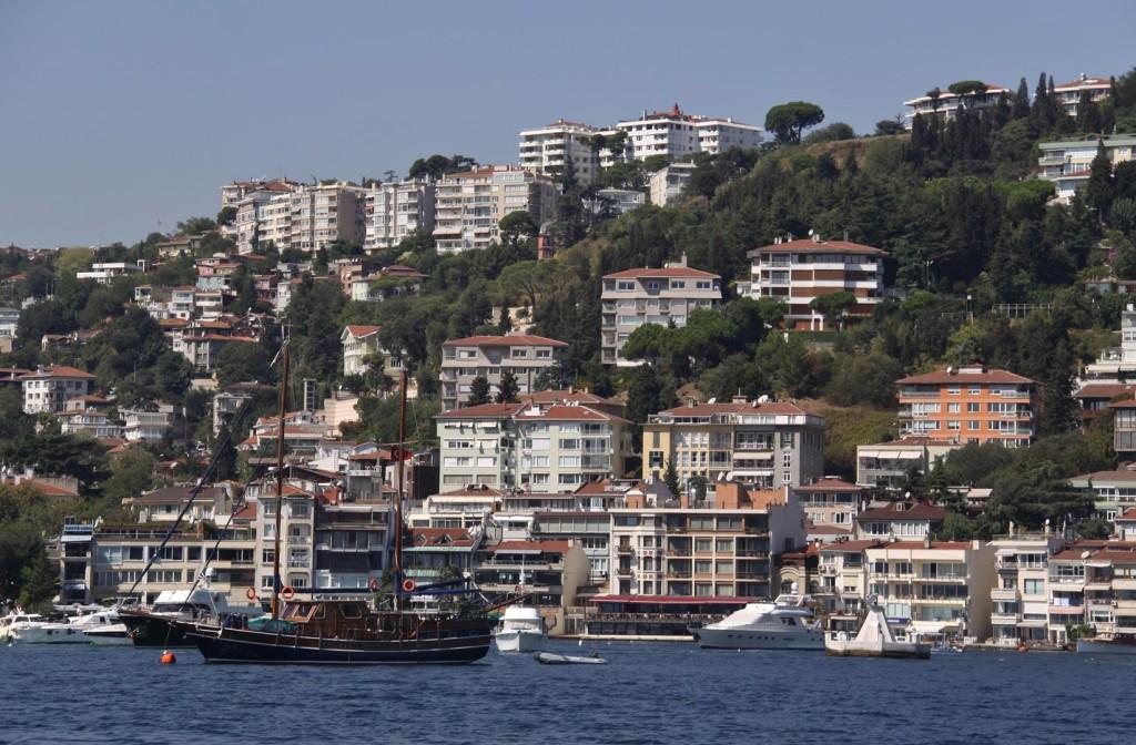 Bebek Koyu a Popular Bay on the Bosphorus